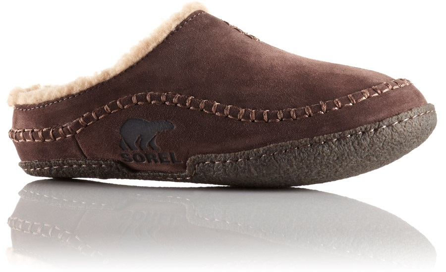 Sorel Adult Unisex Falcon Ridge Men's Slippers, UK 8 Bark