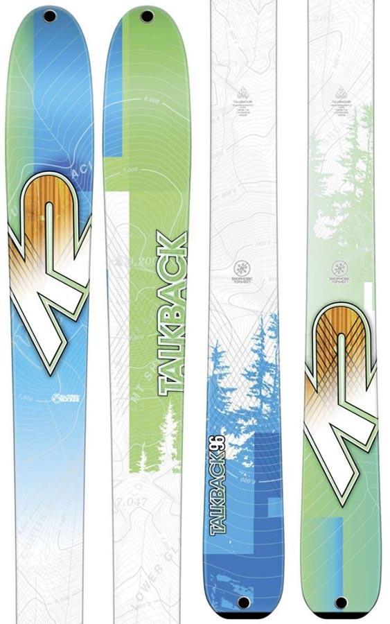 K2 Talkback 96 Women's Skis 163cm Ski Only 2017