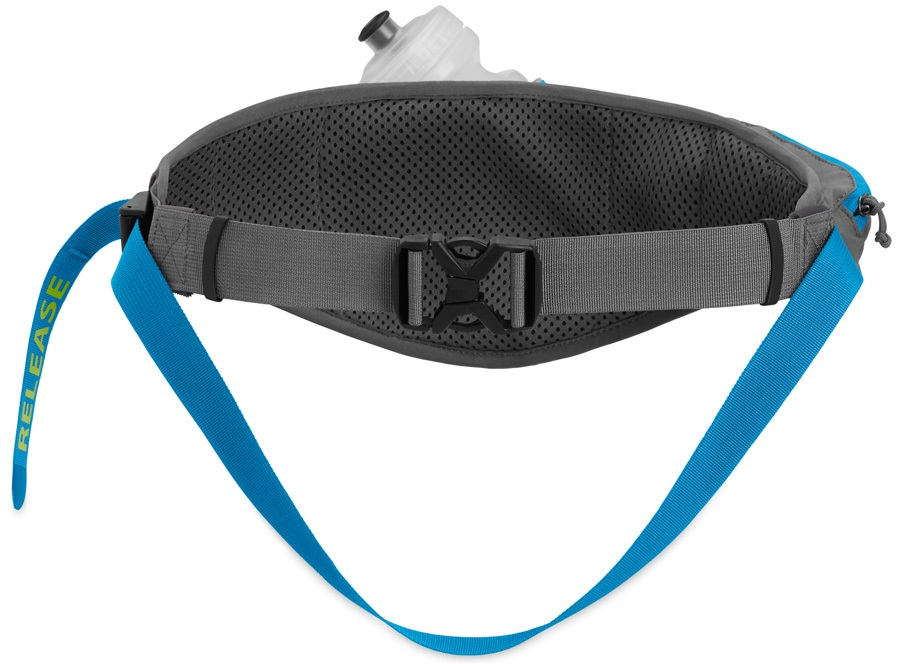 Ruffwear Trail Runner™ Belt Compatible With Leashes, Grey / Blue