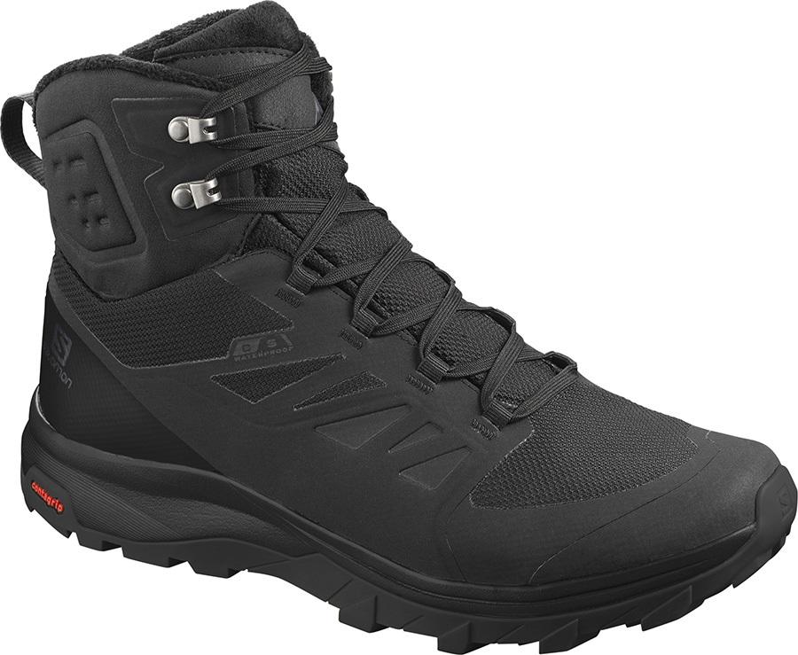 Salomon OUTblast TS CSWP Hiking Boots, UK 10 Black/Black/Black