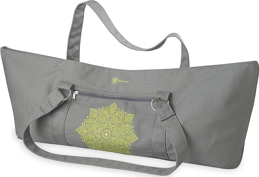 Gaiam Yoga Tote Bag, Citron Sundial