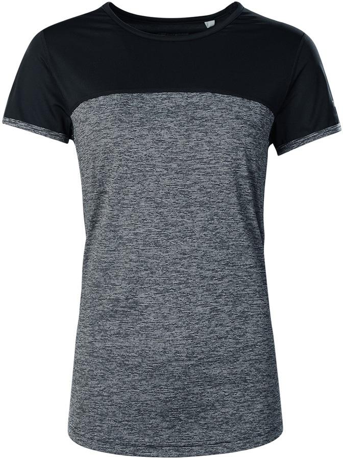 Berghaus Voyager Tech Women's Short Sleeve T-Shirt, UK 12 Carbon/Black