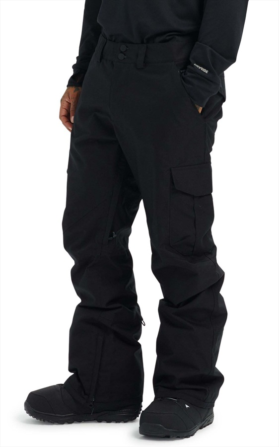 Burton Cargo Tall Fit Snowboard/Ski Pants, S True Black 2020