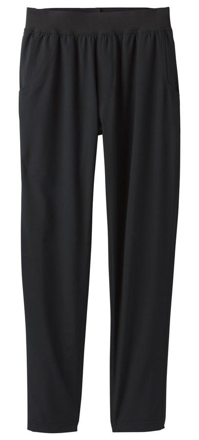 Prana Adult Unisex Super Mojo Climbing & Yoga Pants - S, Black