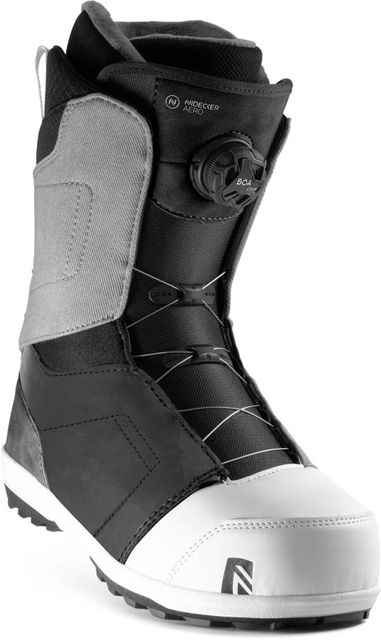 Nidecker Aero BOA Coiler Snowboard Boots, UK 13 Nickelgrey 2020