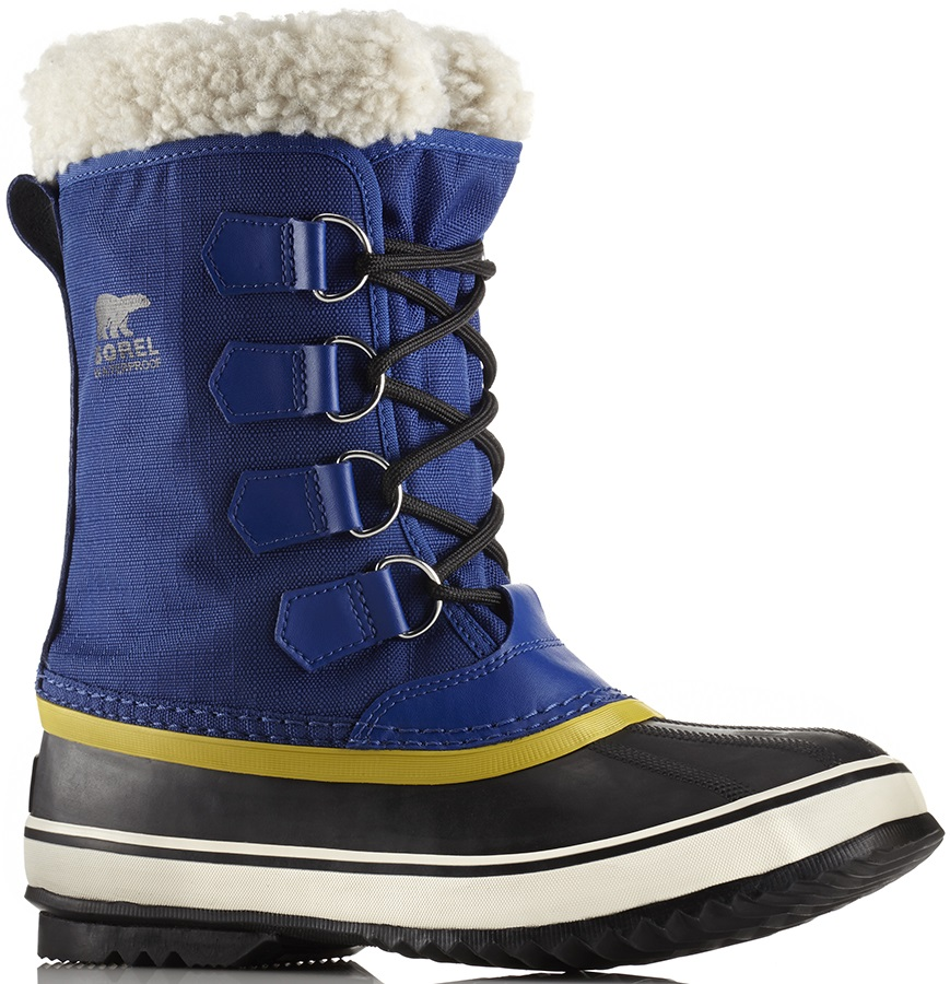 Sorel Womens Winter Carnival Women's Snow Boots, UK 4 Aviation/Black