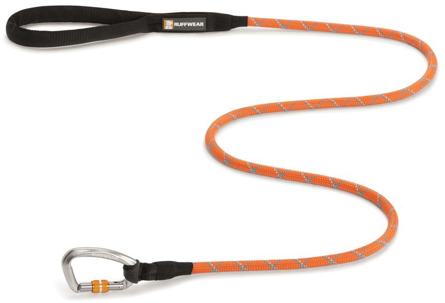 Ruffwear Knot-a-Leash Dog Walking Lead - 1.5m X 11mm, Pumpkin Orange