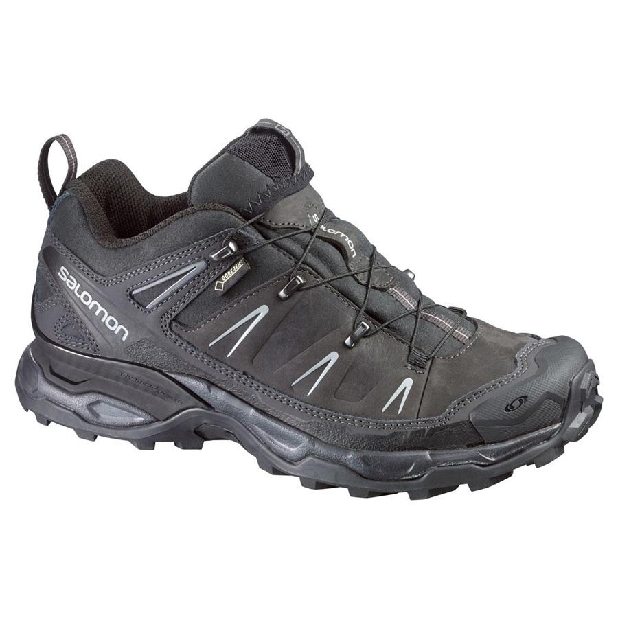 e8990a9e25 Salomon X ULTRA LTR Gore Tex Hiking Shoe UK 8.5 Black Leather