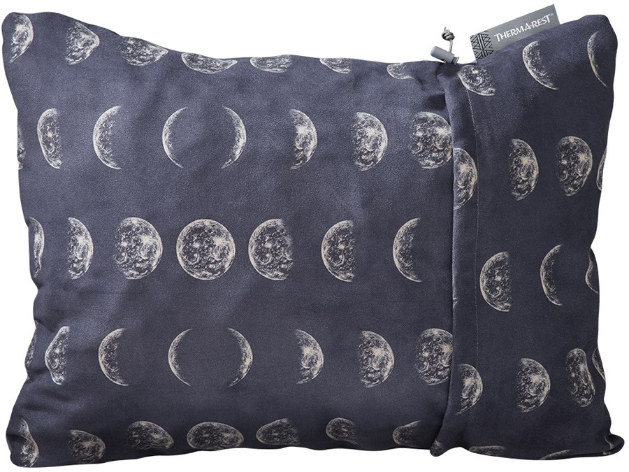 ThermaRest Compressible Travel Pillow Camping Pillow, XL Moon
