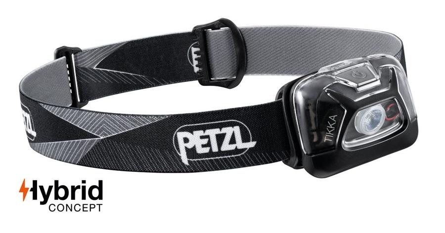 Petzl Tikka Headtorch, 300 Lumens Black