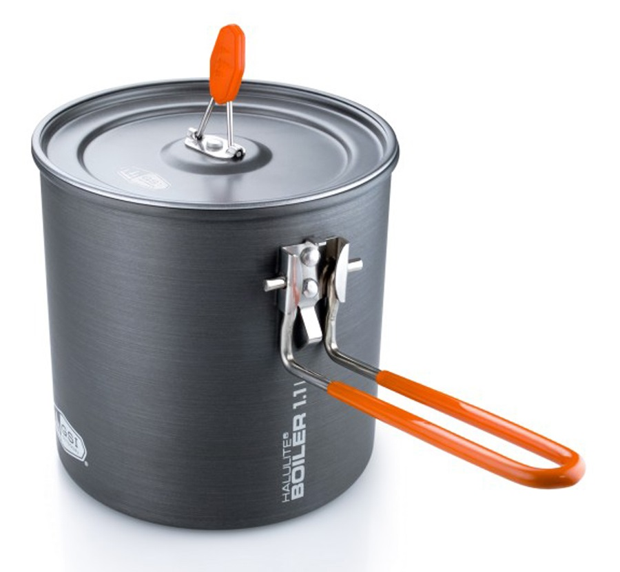 GSI Outdoors Halulite Boiler Compact Camping Cook Pot, 1.1L