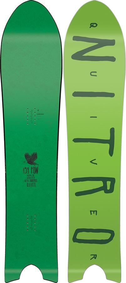 Nitro Quiver Pow Positive Camber Snowboard