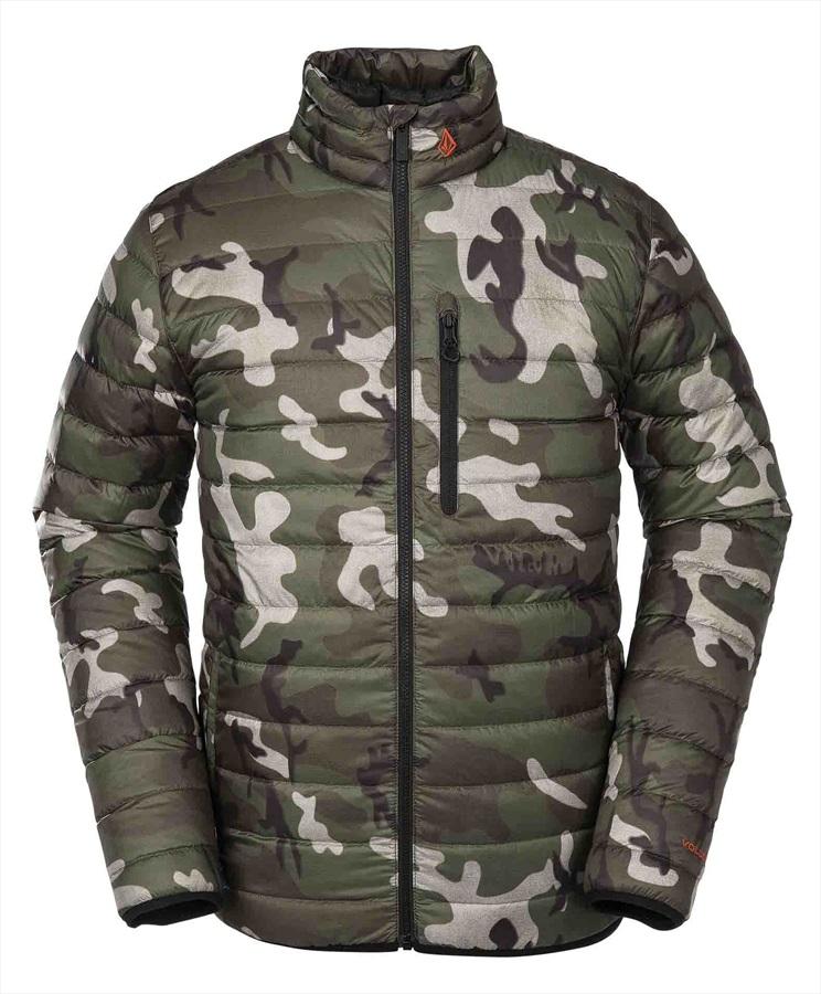 Volcom Puff Puff Give Insulated Ski/Snowboard Jacket M GI Camo