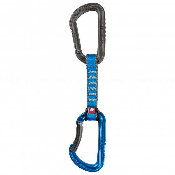 Ocun Falcon QD PA 16mm 10cm 5-pack Rock Climbing Carabiner Blue