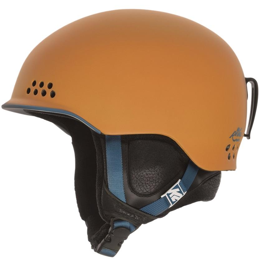 K2 Rival Ski/Snowboard Helmet, S, Orange