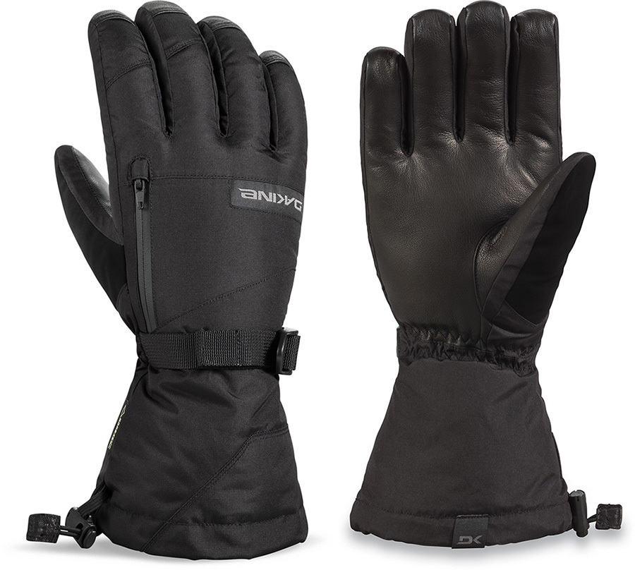 Dakine Leather Titan Gore-Tex Snowboard/Ski Gloves S Black
