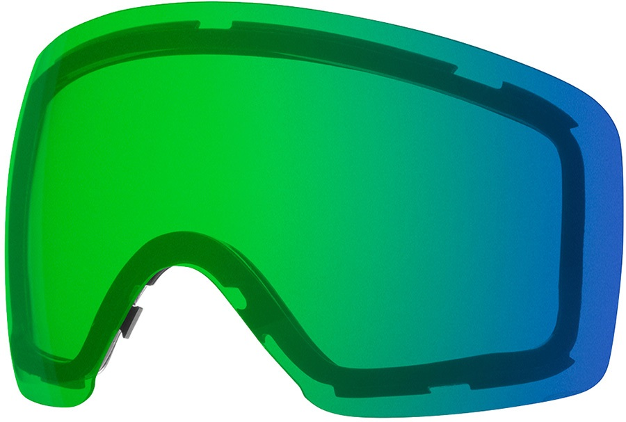 Smith Skyline Snowboard/Ski Goggle Spare Lens, Chromapop Green