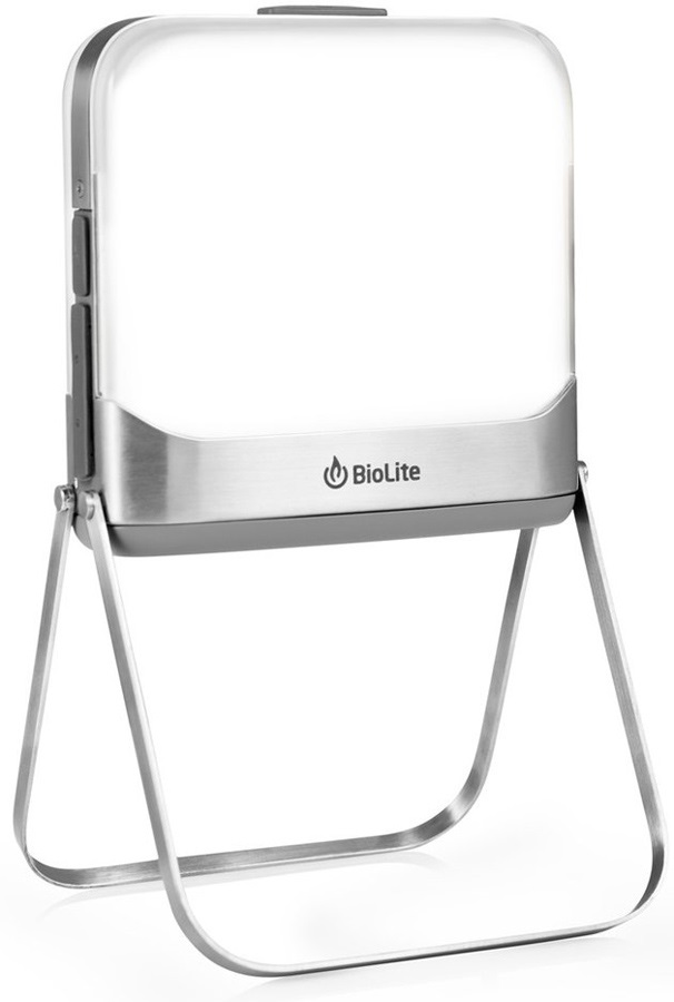BioLite BaseLantern Camping Lamp & Power Pack, 500 Lumens Grey