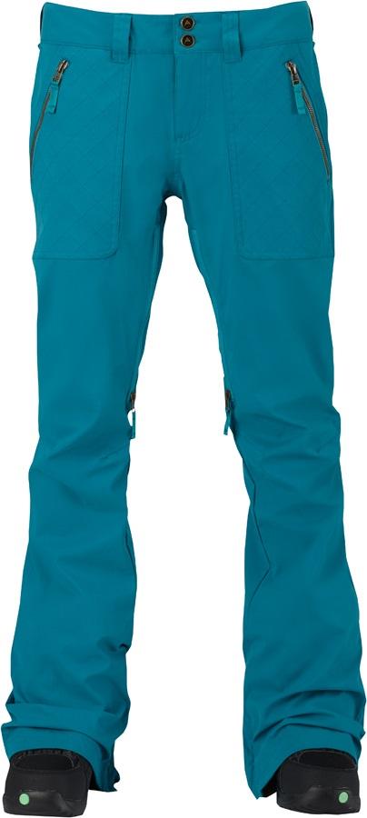 Burton Vida Women's Ski/Snowboard Pants, S Tahoe Enzyme Wash