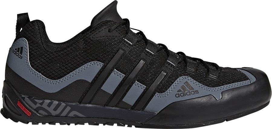 6fb87f72ab0 Adidas Terrex Swift Solo Approach/Walking Shoes, UK12 Black