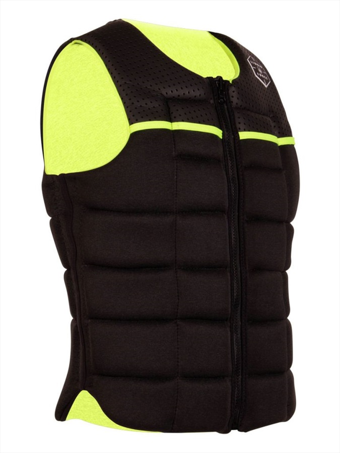 Liquid Force Flex Wakeboard Impact Vest, XX Large Black Yellow 2020