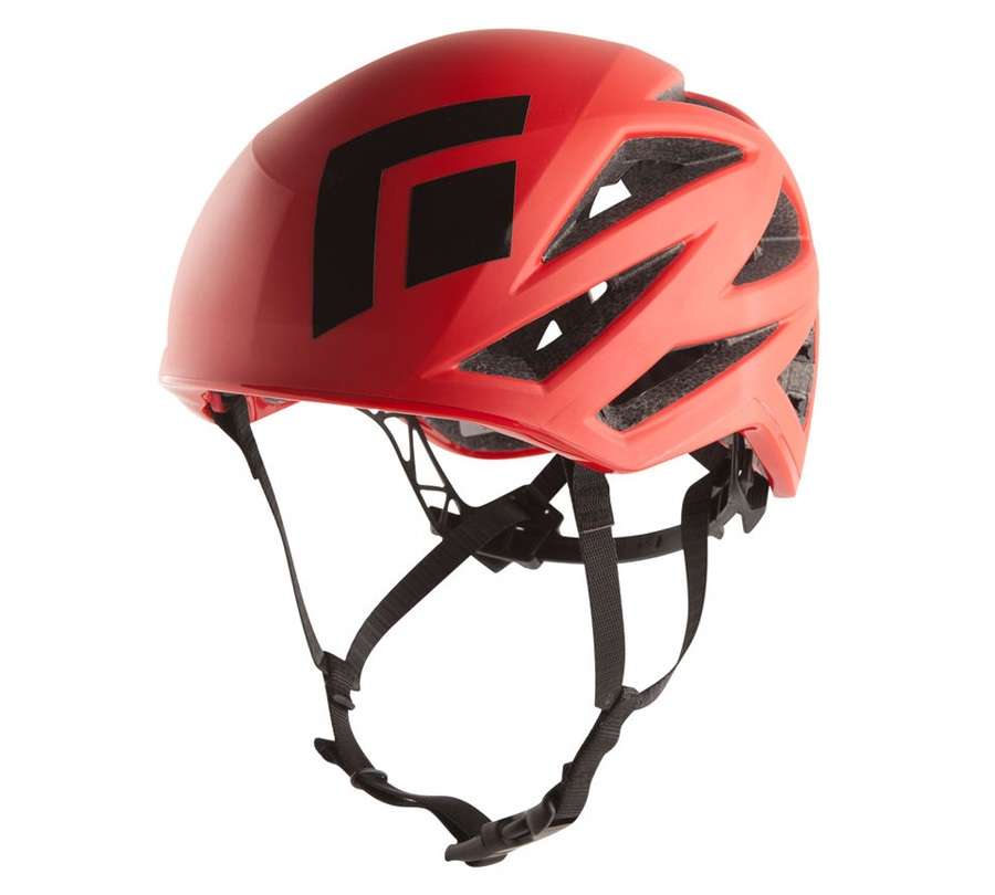 Black Diamond Vapor Alpine Rock Climbing Helmet M L Fire Red