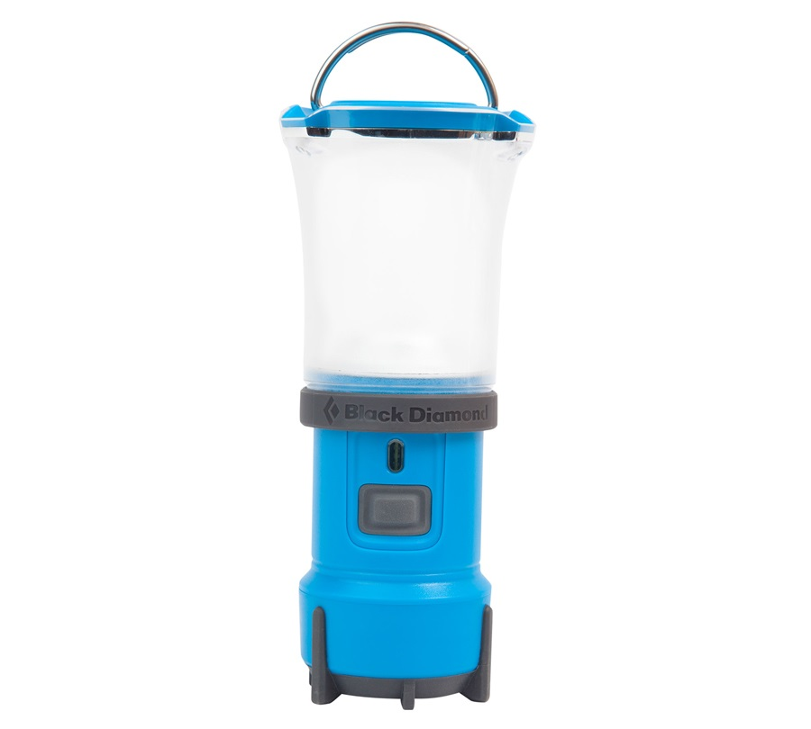 Black Diamond Voyager Lantern X Flashlight, Process Blue