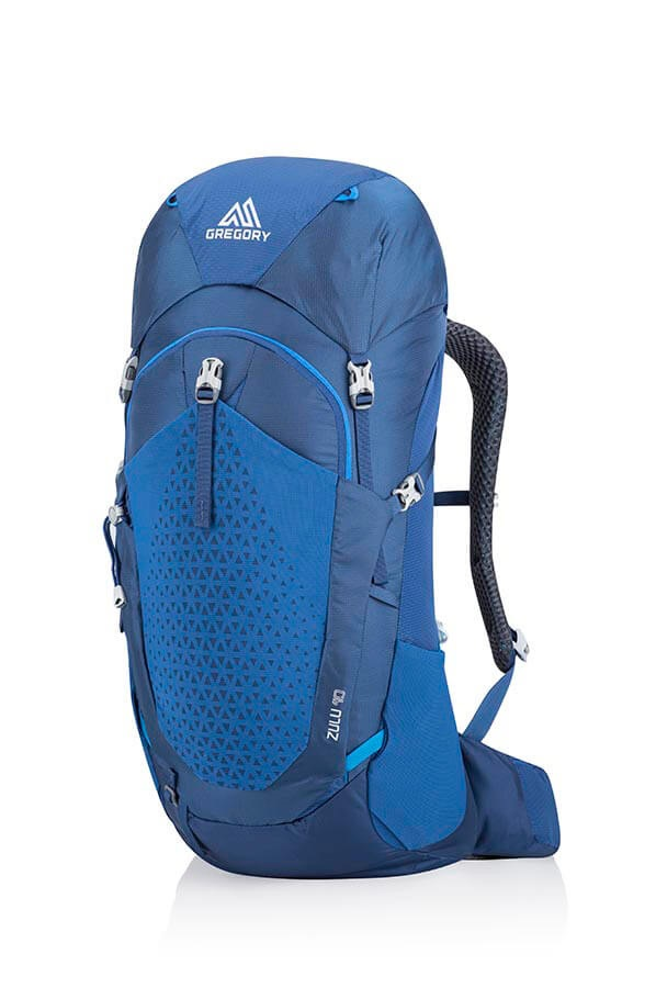 Gregory Zulu S/M Dayhiking, Camping Backpack, 40L Empire Blue