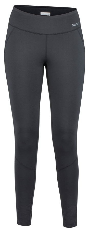 Marmot Womens Nicole Heavyweight Tight Baselayer Leggings, UK 12 Black
