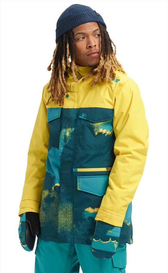 Burton Covert Ski/Snowboard Jacket, M 92 Air/Maize