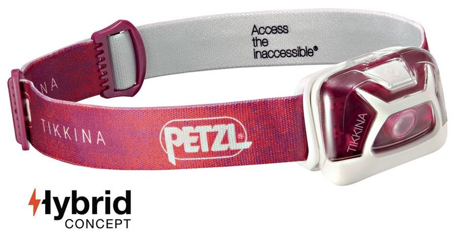 Petzl Tikkina Headlamp Headtorch, 150 Lumens Pink