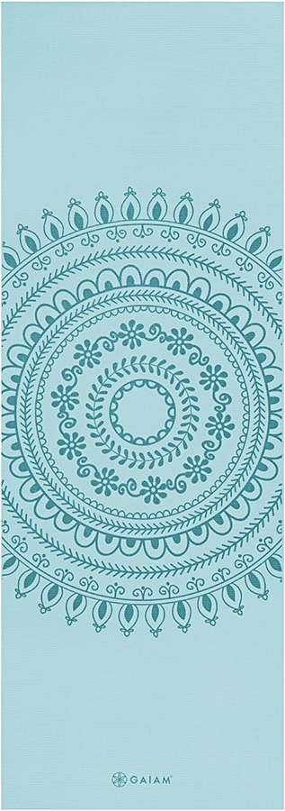 Gaiam Premium Printed Yoga Mat 6mm Marrakesh