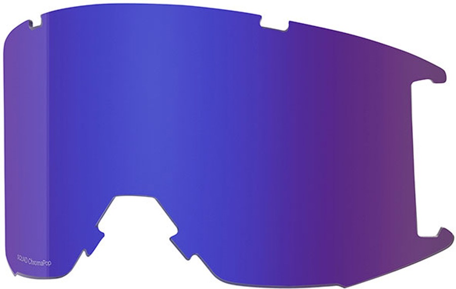 Smith Squad Snowboard/Ski Goggle Spare Lens, Chromapop Everyday Violet