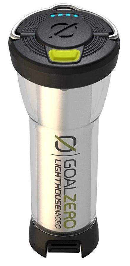 Goal Zero Lighthouse Micro USB Rechargeable Lantern 150 Lumens Sliver