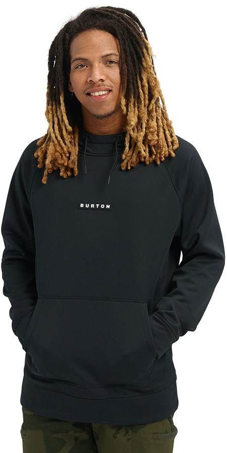 Burton Crown Bonded Pullover Ski/Snowboard Hoodie, XXL True Black