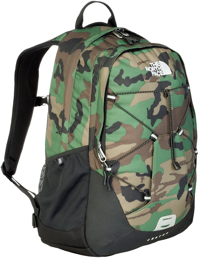 9f17d99da The North Face Jester Backpack, Military Green Woodland