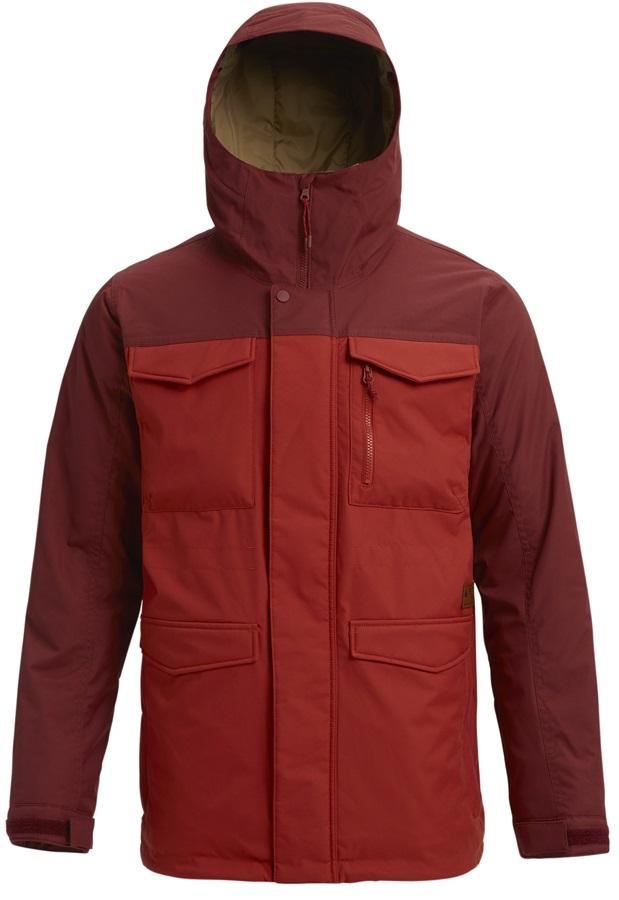 Burton Covert Snowboard/Ski Jacket, M Sparrow/Bitters