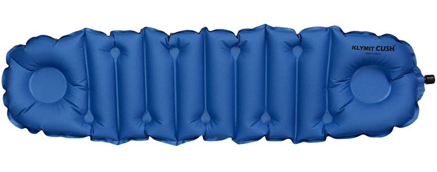 Klymit Cush Seat/Pillow Inflatable Seat Pad, Blue