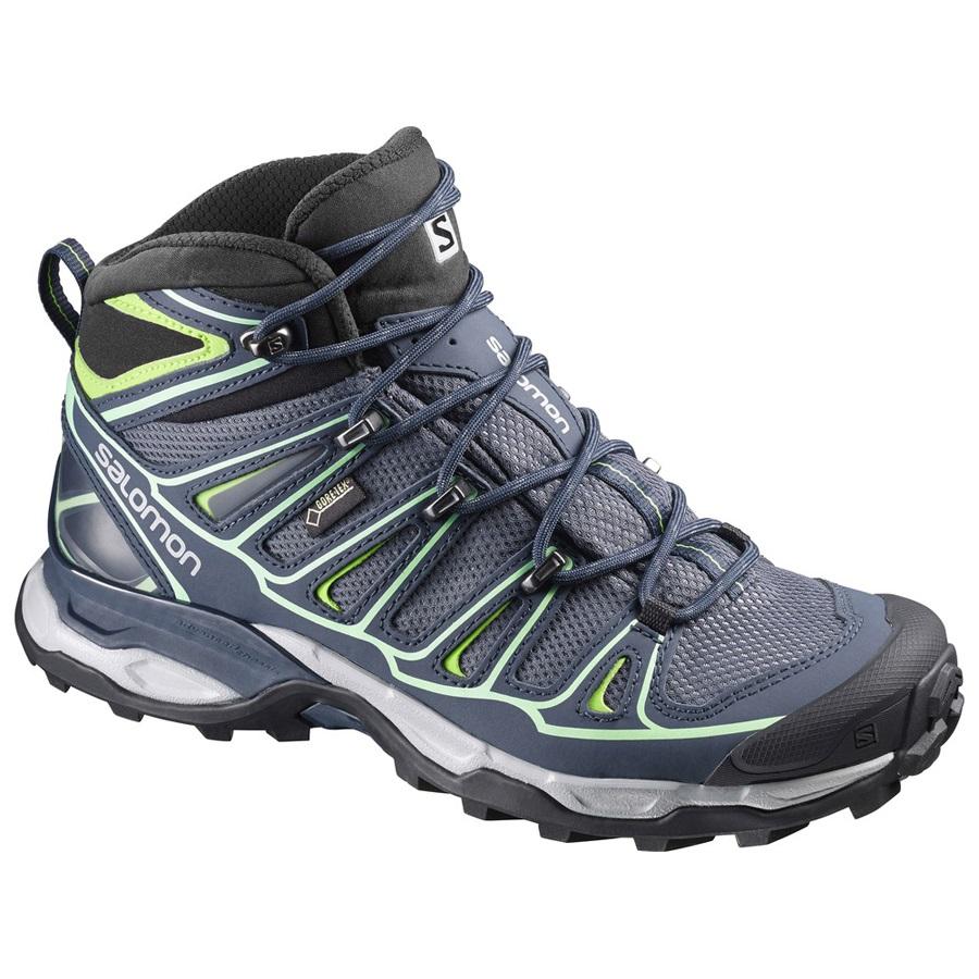 check out 57ec7 ef9fc Salomon X ULTRA MID 2 GTX Gore Tex Women's Hiking Shoe UK 5.5 Grey