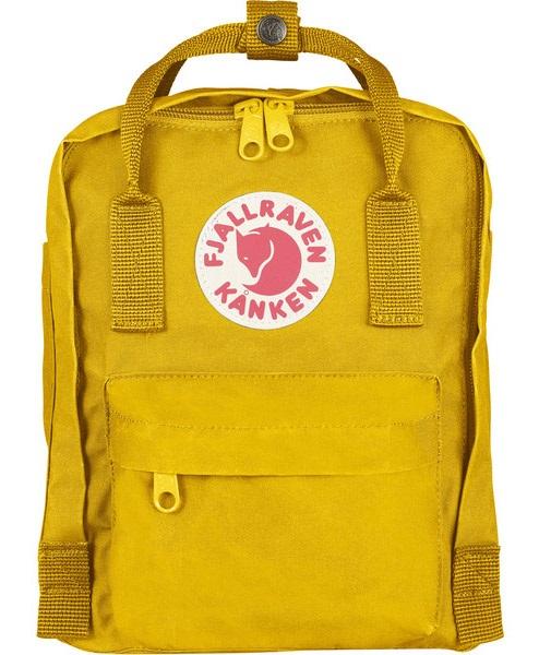 Fjallraven Kanken Mini Backpack, 7L Warm Yellow