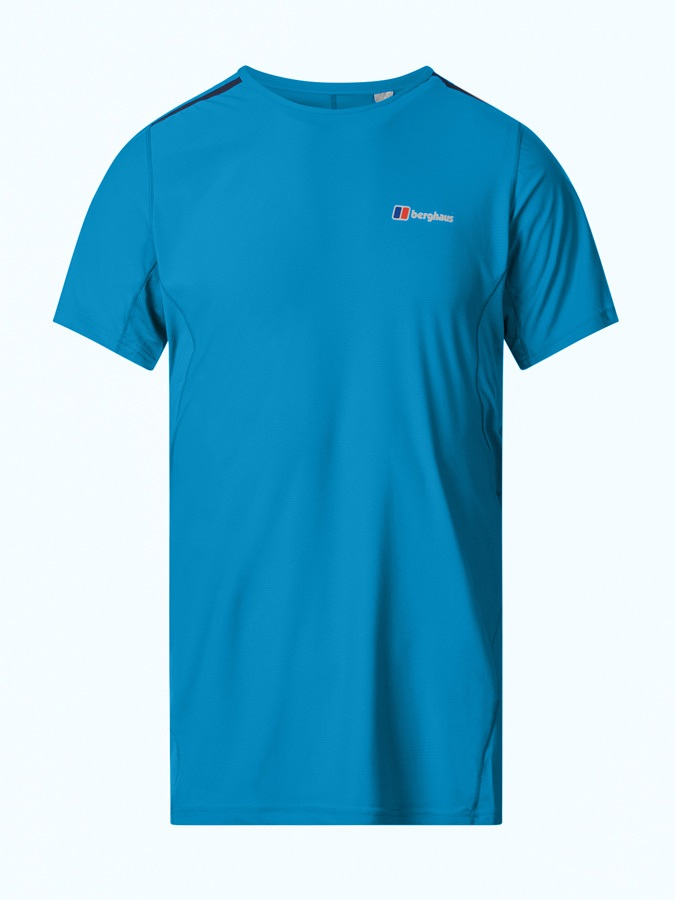 Berghaus Super Tech Short Sleeve Base Layer T-Shirt, M Adriatic