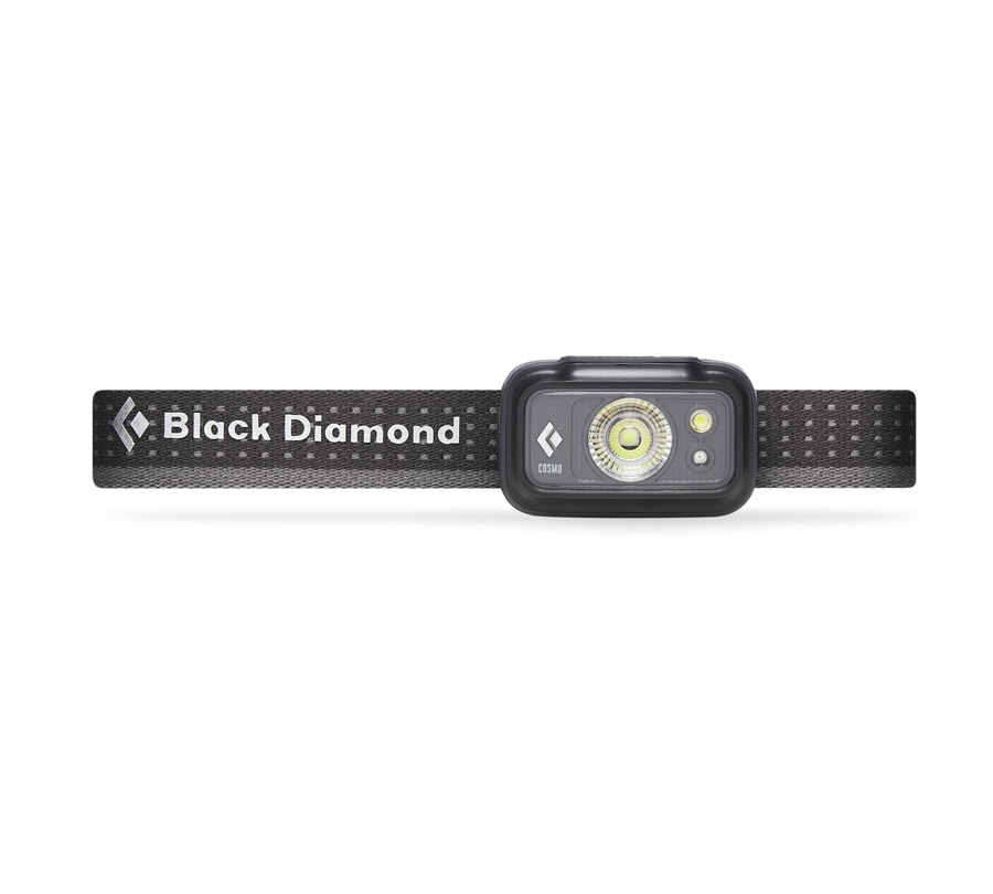 Black Diamond Cosmo LED Headlamp, 225 Lumens Graphite