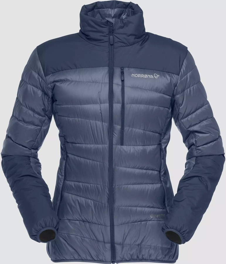 Norrona Womens Falketind Down Jacket Women's Down, UK 12 Indigo Night