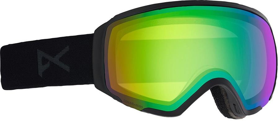Anon WM1 Sonar Green Women's Ski/Snowboard Goggles, S/M MFI Smoke