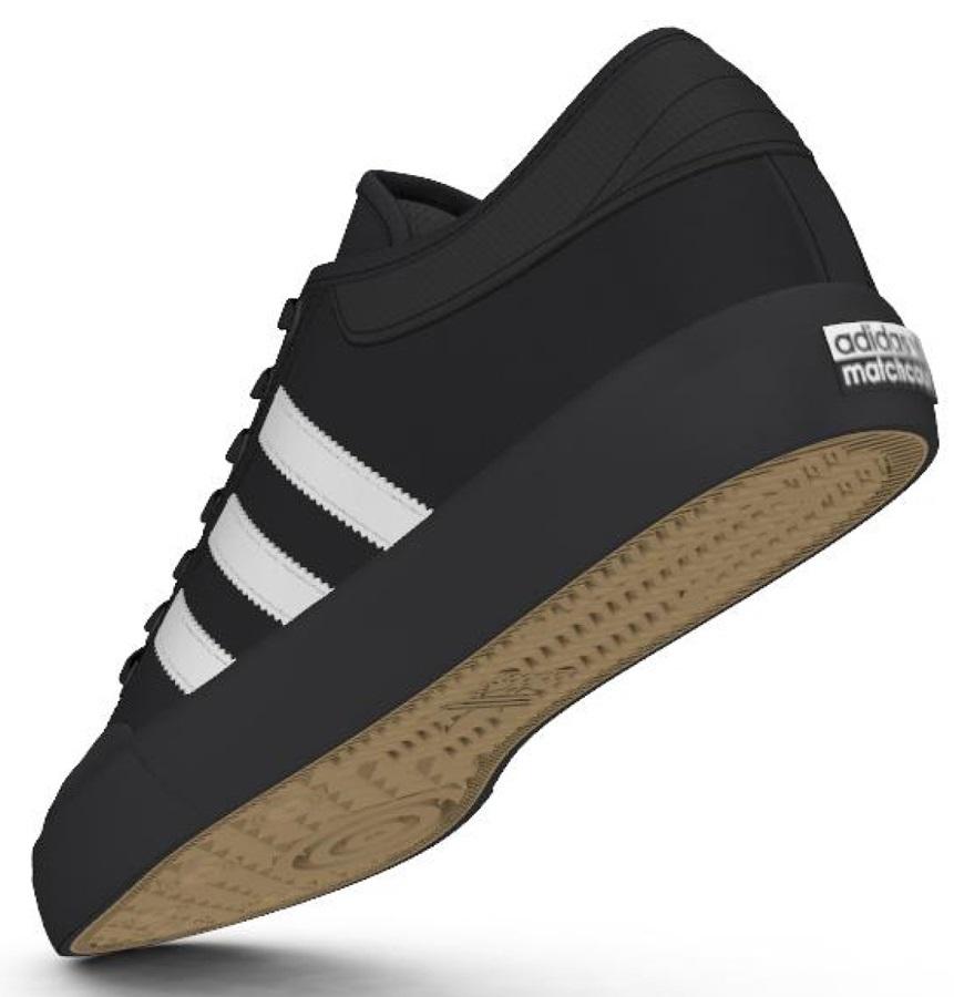 Adidas Matchcourt Men's Trainers Skate Shoes, UK 9 Core Black