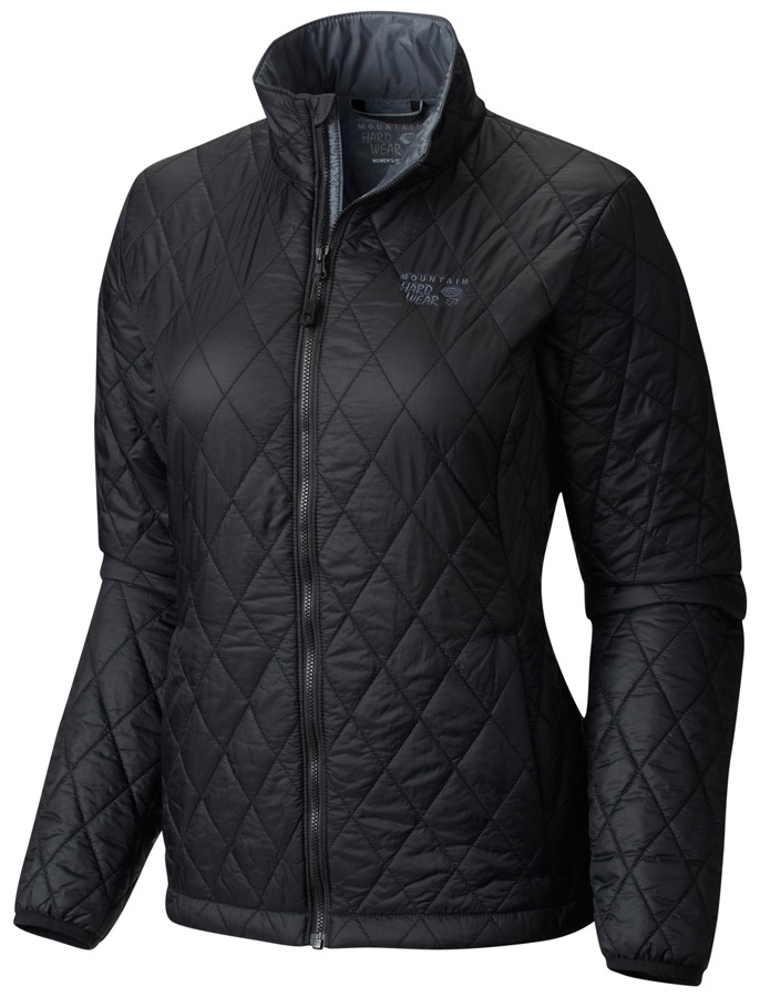 Mountain Hardwear Thermostatic Jacket Women's Mid-Layer L Graphite