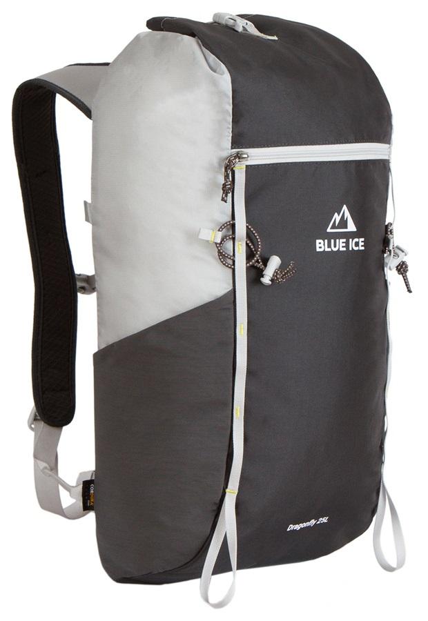 Blue Ice Dragonfly Alpine Climbing Backpack, 25L Grey/Black
