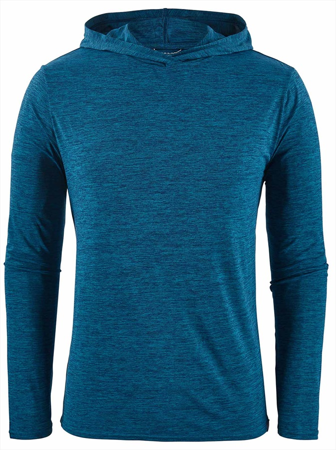 a912fcf8c7 Patagonia Men's Capilene Cool Daily Pullover Hoody, S Big Sur Blue