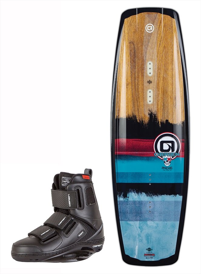 O'Brien INDIE | GTX Cable Wakeboard Package, 136|5-7 Blue 2019