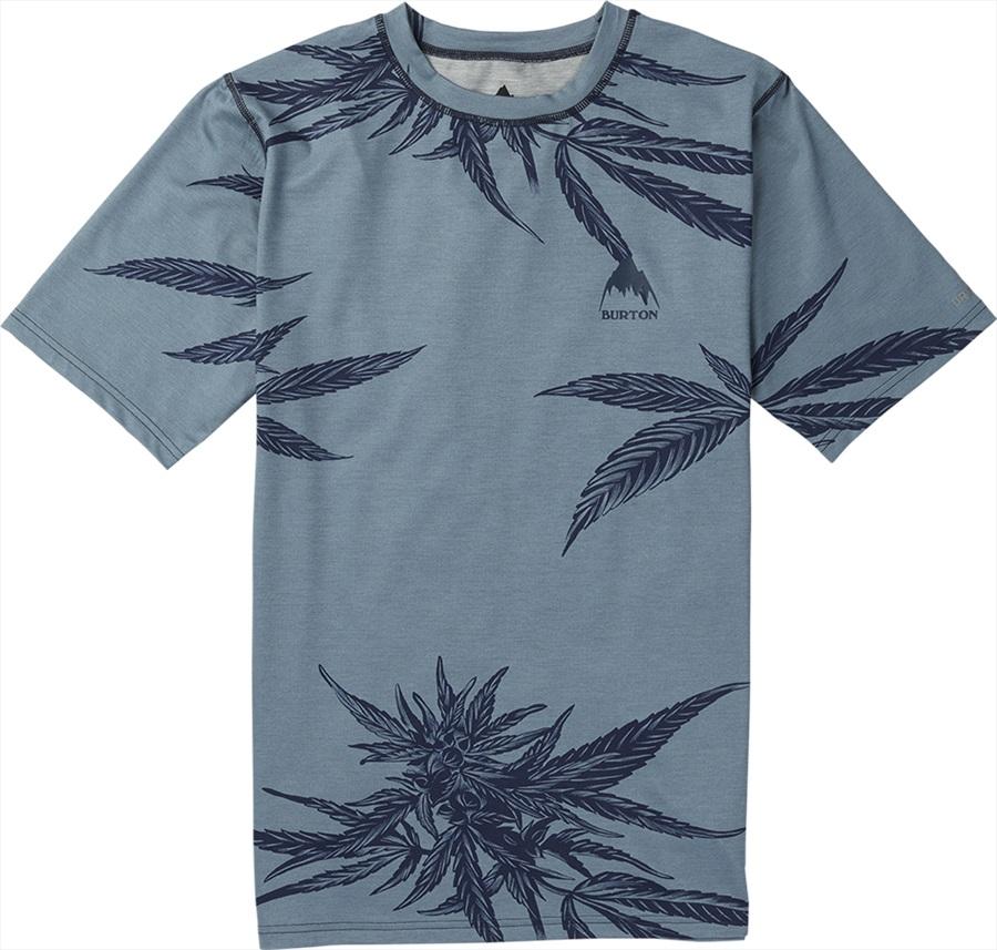 Burton Lightweight Tee Baselayer Shirt, M Tropical Trip
